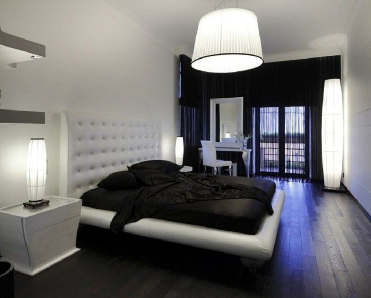 Stunning decoration chambre coucher moderne contemporary for Chombre a coucher moderne