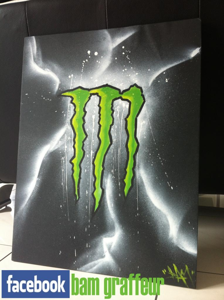 D coration chambre monster energy for Offre d emploi decoration