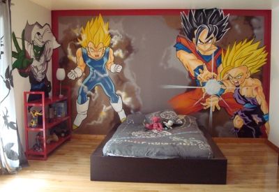 exemple décoration chambre naruto