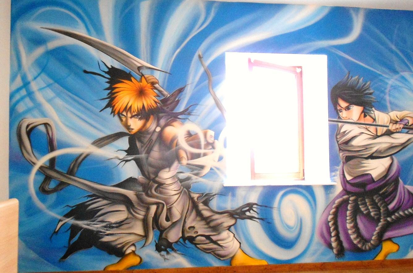 photo décoration chambre naruto