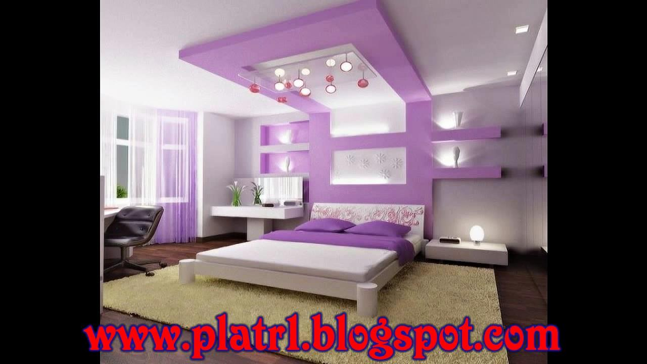 Decoration platre 2016 chambre a coucher for Decoration chambre a coucher en photo