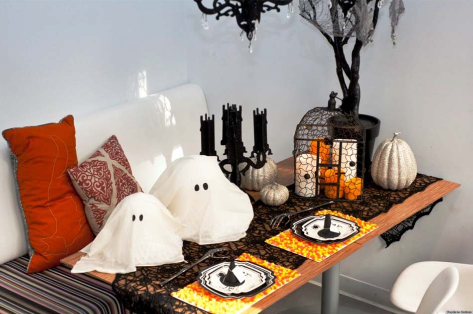 D coration chambre pour halloween exemples d 39 am nagements for Deco maison halloween