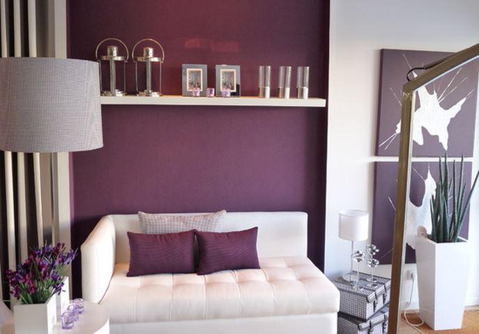 decoration chambre prune - Chambre Beige Et Prune