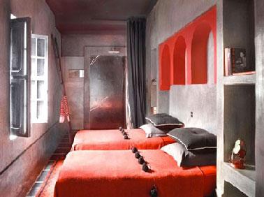 Chambre ado garcon gris et rouge ~ Design de maison