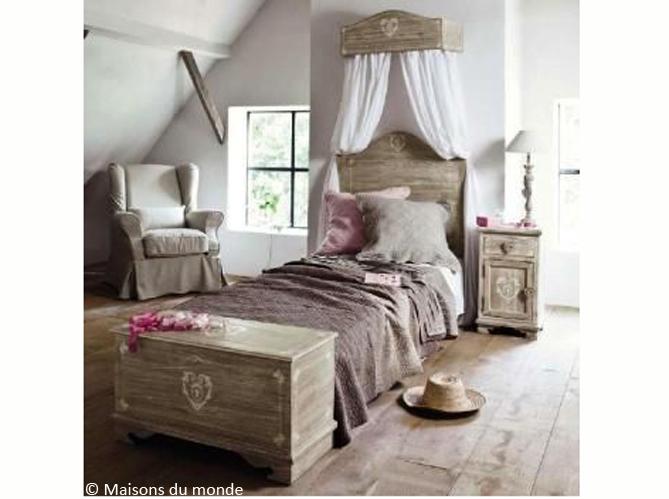 Décoration Chambre Style Ancien - Exemples D'Aménagements