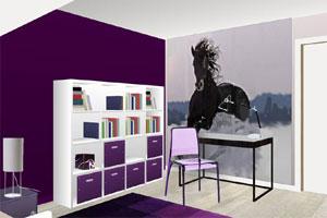 Décoration Chambre Theme Equitation Exemples Daménagements - Cheval chambre idees de decoration