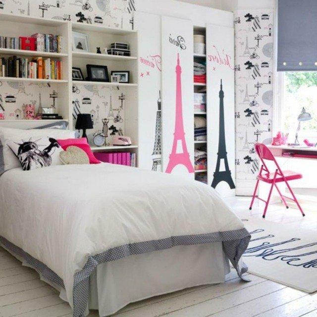 idée décoration chambre tour eiffel