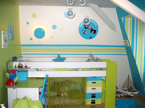 Davaus.net = Deco Chambre Bebe Bleu Et Vert ~ Avec des idées ...