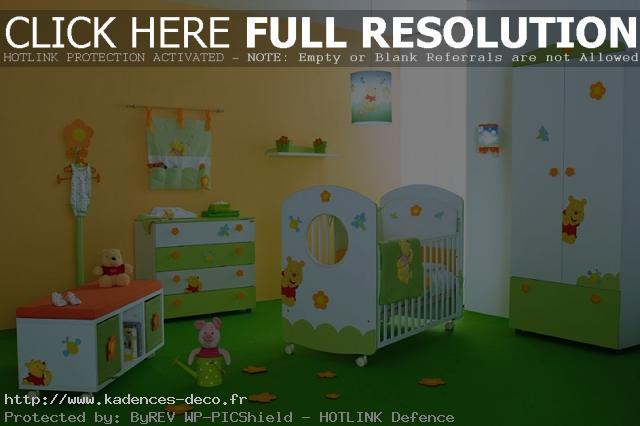 Décoration chambre winnie l\'ourson - Exemples d\'aménagements