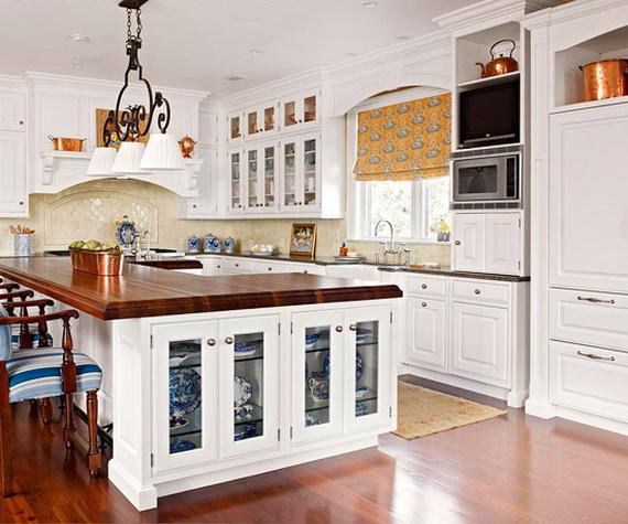 D coration cuisine armoire exemples d 39 am nagements for Decoration porte armoire cuisine