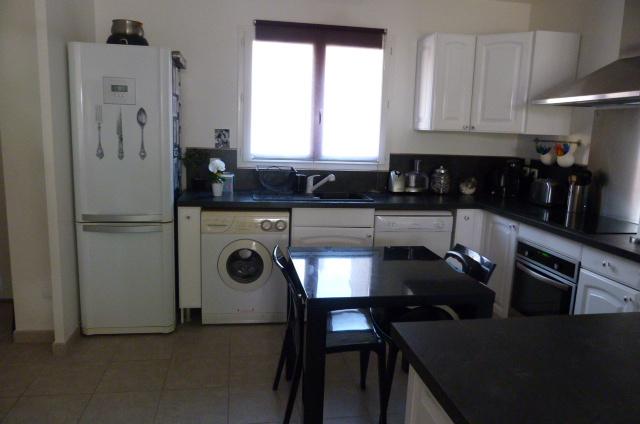 Décoration cuisine blanc noire - Exemples d\'aménagements