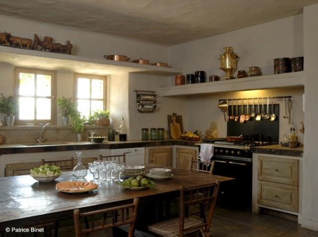 D coration cuisine champetre exemples d 39 am nagements - Modele de cuisine champetre ...