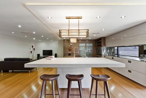d coration cuisine japonaise. Black Bedroom Furniture Sets. Home Design Ideas