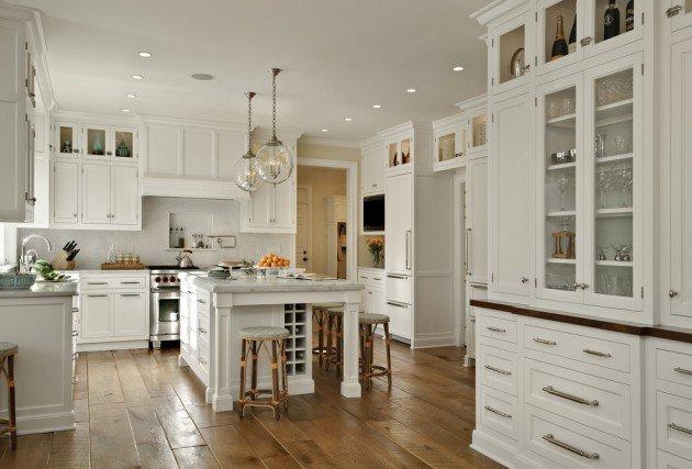 Décoration cuisine traditionnelle - Exemples d\'aménagements