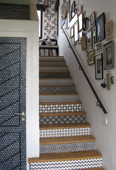 D co entree couloir escalier - Idee deco couloir avec escalier ...