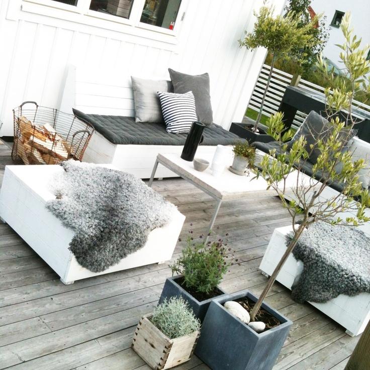 D Coration Exterieur Pour Terrasse Exemples D 39 Am Nagements