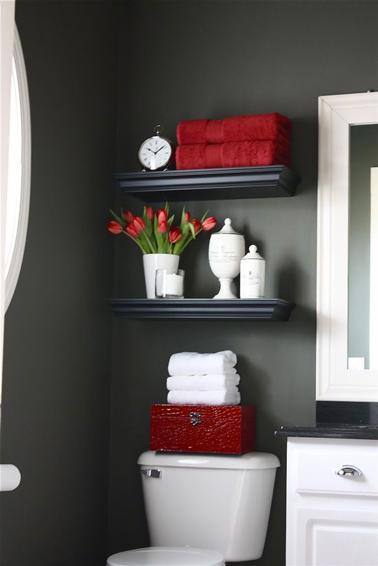 Décoration grand wc - Exemples d\'aménagements
