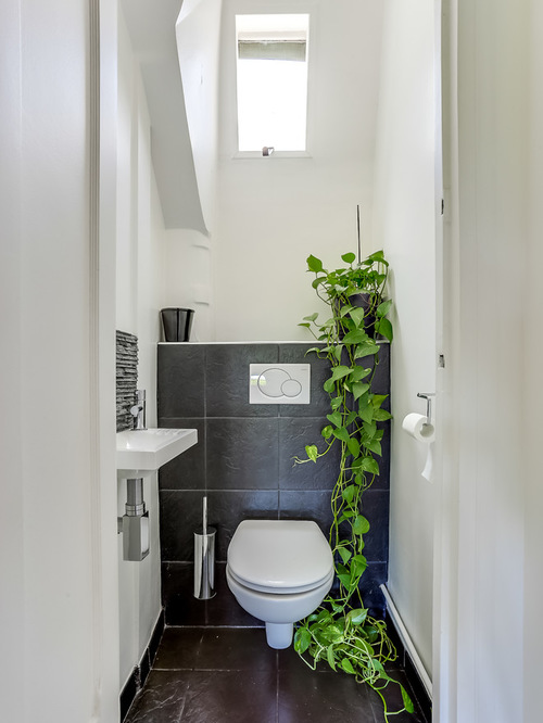 Exemple Salle De Bain Zen : Powder Room Design Ideas