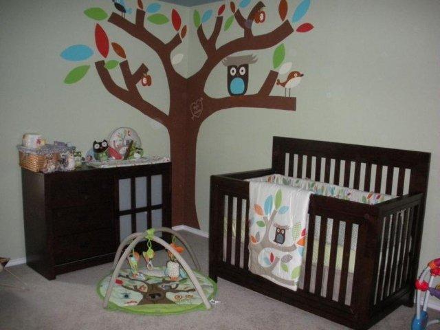 Décoration hibou chambre bebe - Exemples d\'aménagements