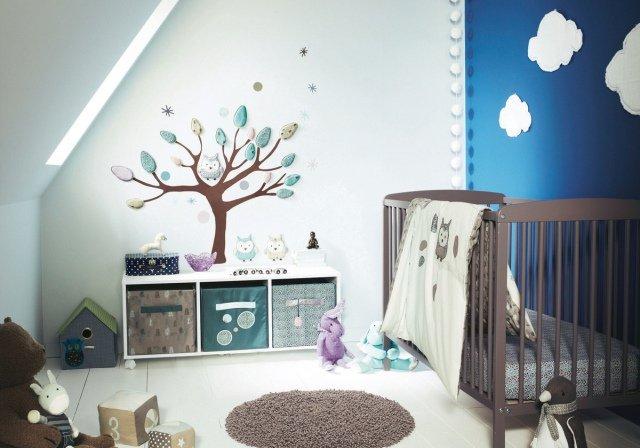 Décoration hibou chambre bebe  Exemples d'aménagements