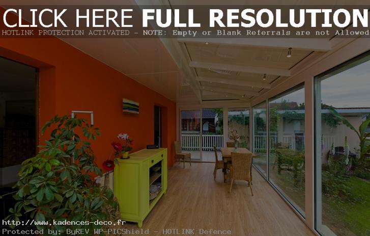 Décoration Interieur De Veranda - Exemples D'Aménagements