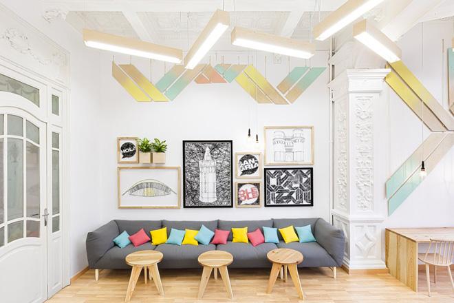 Modèle décoration interieur ecole