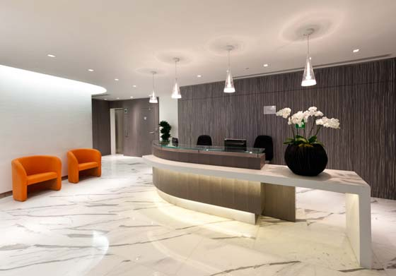 D coration interieur pour bureau exemples d 39 am nagements for Idee amenagement bureau professionnel