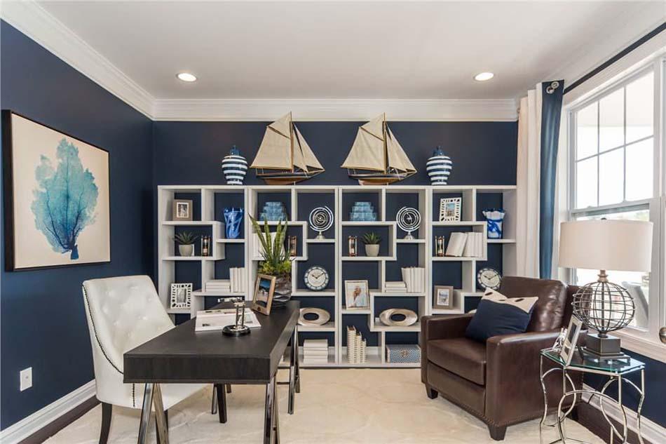 d coration interieur pour bureau exemples d 39 am nagements. Black Bedroom Furniture Sets. Home Design Ideas