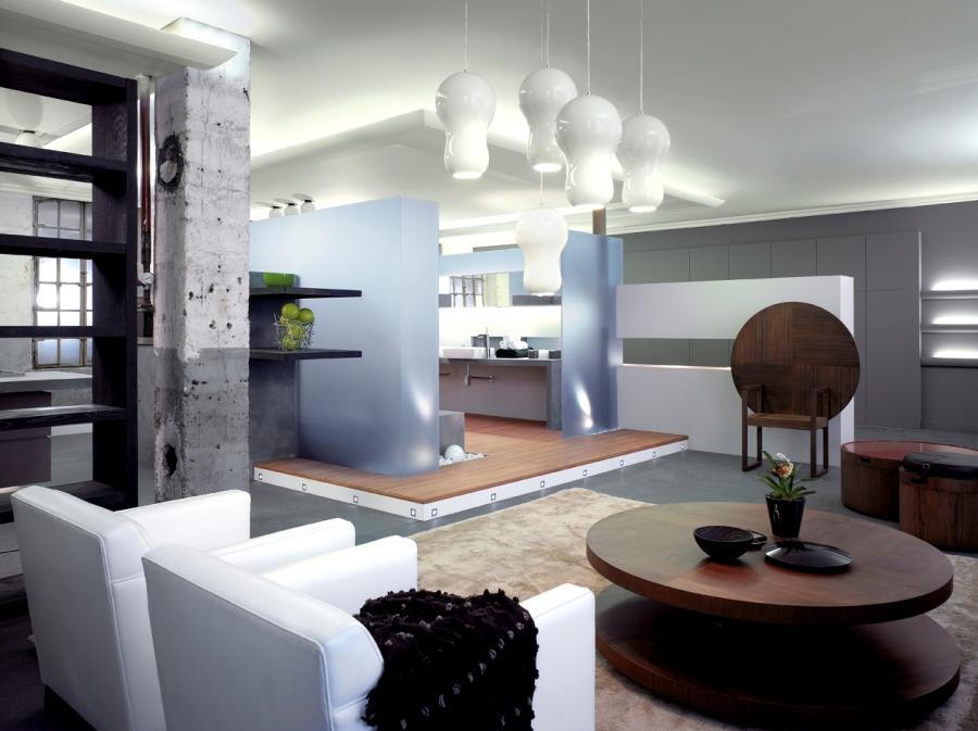 D coration interieur pour loft for Decoration luminaire interieur