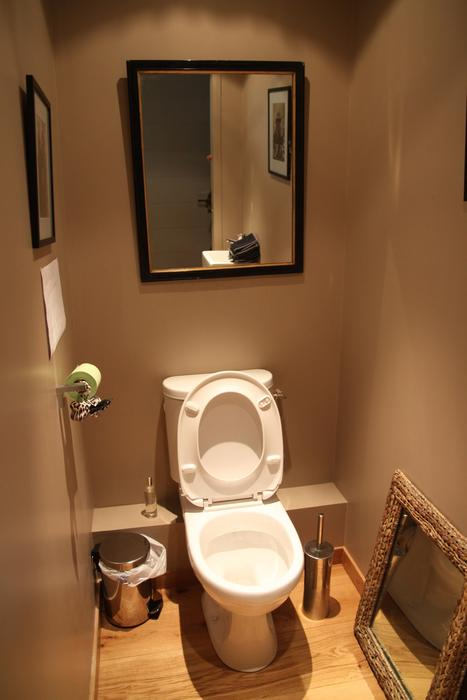D coration interieur toilettes exemples d 39 am nagements for Toilette seche interieur maison
