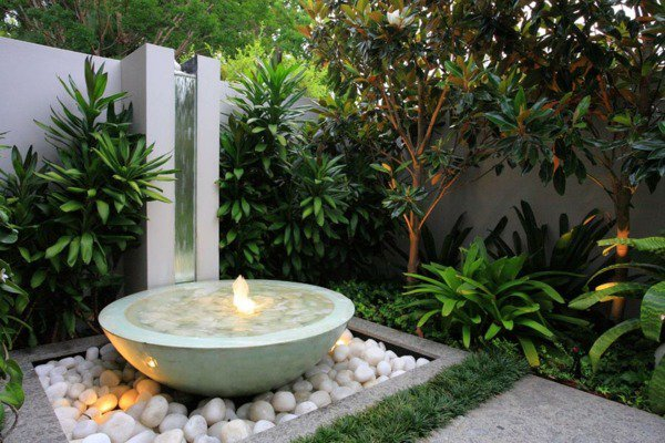 Awesome Decoration Jardin Exterieur Fontaine Gallery - Design Trends ...