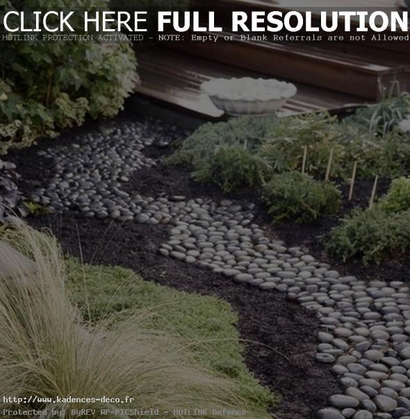 Décoration jardin avec galets - Exemples d\'aménagements