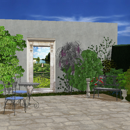 D coration jardin cour exemples d 39 am nagements for Jardin cour