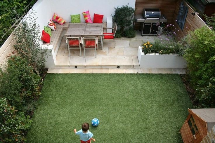 D coration jardin cour exemples d 39 am nagements for Decoration de jardin design