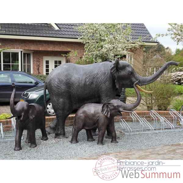 D co jardin elephant for Achat de decoration