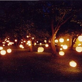 Stunning Decoration Jardin Nuit Contemporary - Seiunkel.us ...