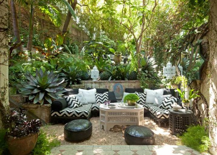 Décoration jardin plante - Exemples d\'aménagements