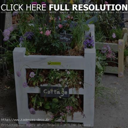 univers décoration jardin recup