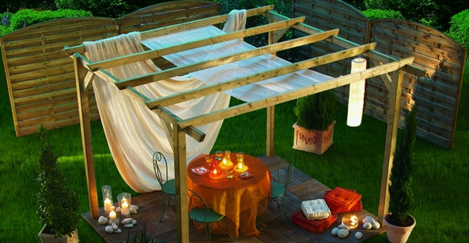 Idee decoration jardin for Decoration jardin soiree