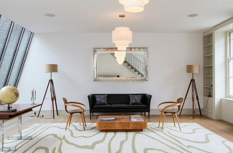 d coration lampe salon exemples d 39 am nagements. Black Bedroom Furniture Sets. Home Design Ideas