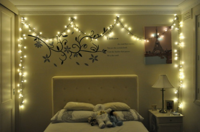 d 233 coration lumineuse chambre exemples d am 233 nagements christmas bedroom decorating ideas twin bedding christmas