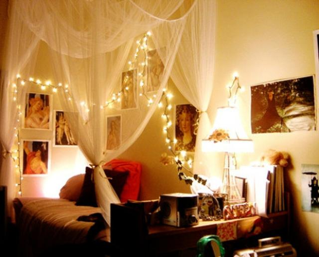 dco chambre guirlande lumineuse - Guirlande Lumineuse Deco Chambre