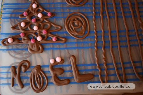 D coration maison buche de noel exemples d 39 am nagements - Decoration buche de noel maison ...