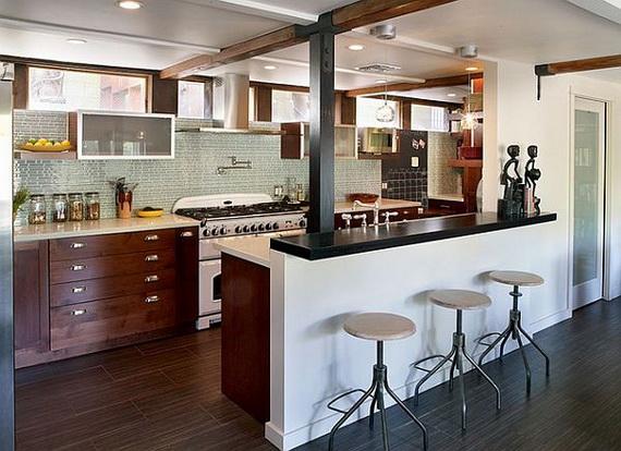 Décoration maison cuisine americaine - Exemples d\'aménagements