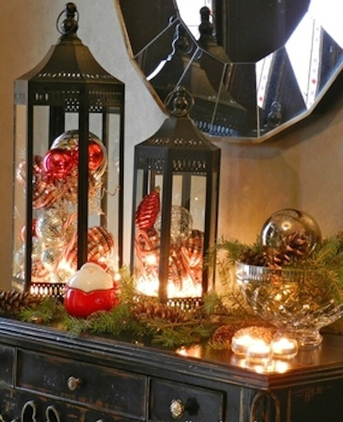 D coration maison interieur noel exemples d 39 am nagements - Deco table de noel fait maison ...