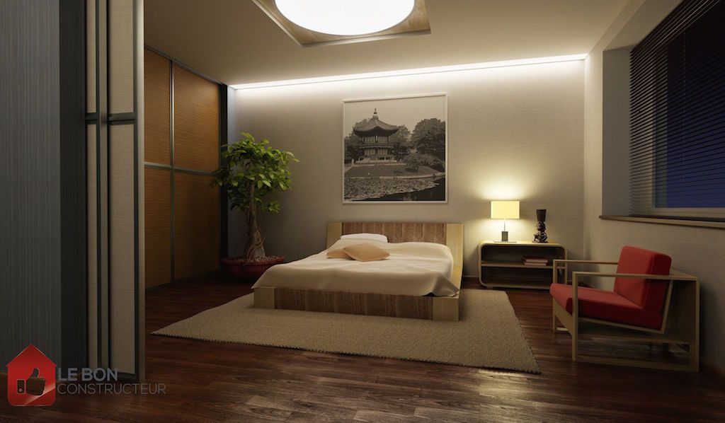 d coration maison japon exemples d 39 am nagements. Black Bedroom Furniture Sets. Home Design Ideas