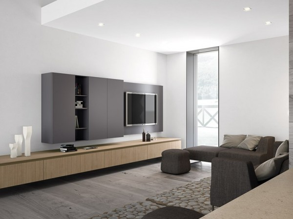 d coration maison minimaliste exemples d 39 am nagements. Black Bedroom Furniture Sets. Home Design Ideas