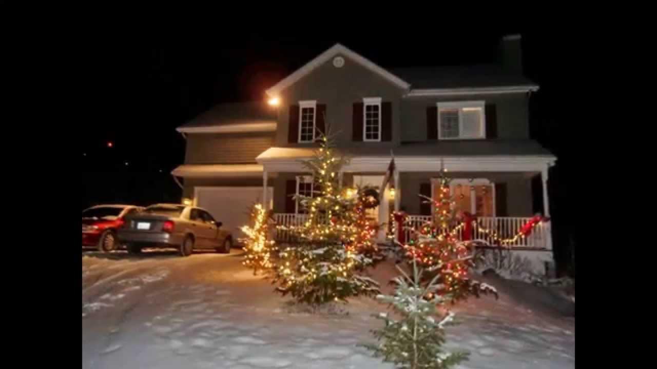 Deco Noel Exterieur Lumineuse Maison Design