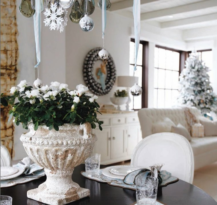 D coration maison noel interieur exemples d 39 am nagements for Decoration noel interieur