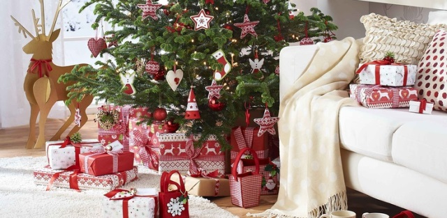 D coration maison noel interieur exemples d 39 am nagements for Pere noel decoration interieur